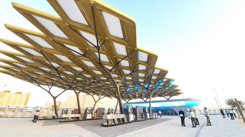 MEP Works for ENOC EXPO Green Fuel Station